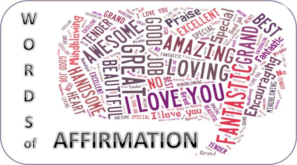 Words of affirmation